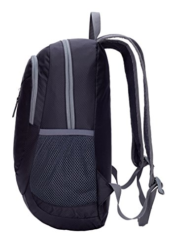 Venture Pal 25L – Durable Packable Lightweight Travel Hiking Backpack Daypack Small Bag for Men Women Kids (Black)