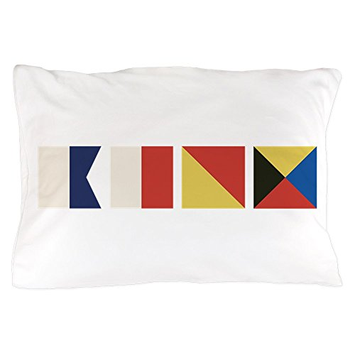 CafePress - Nautical Flags - Standard Size Pillow Case, 20