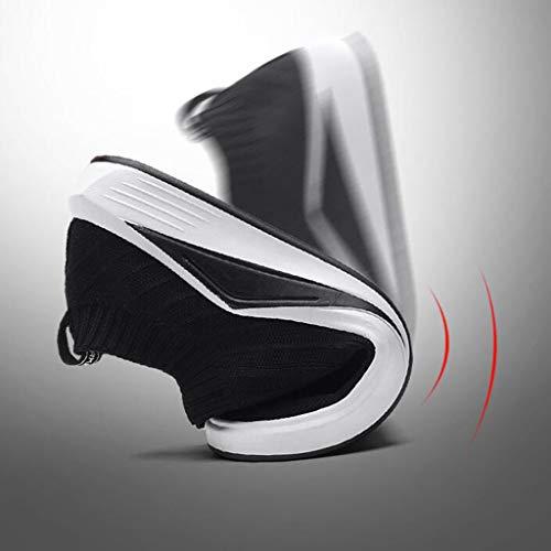 EU42 Uk6 de Paresseuses Chaussures Chaussures Chaussures Chaussures De CN43 Respirantes YiWu Bas 5 Chaussures UK8 Loisirs Aide Hommes Toile A Eu39 Pédale Cn39 Marée Sport Couleur SAA7H