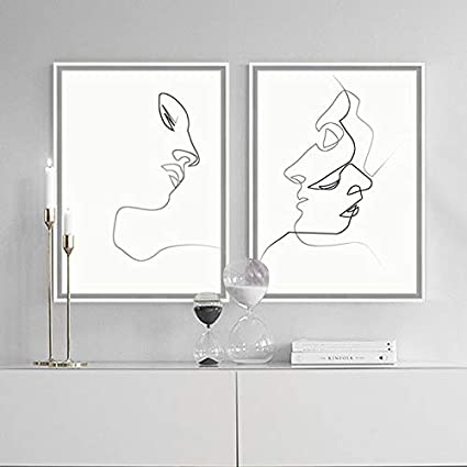 Black Sketch Wall Art