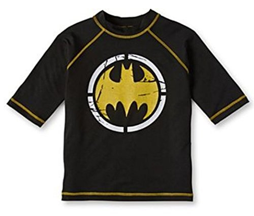 Batman Little Boys' 2-7 Logo Rashguad in Black (4) for $<!--$14.99-->