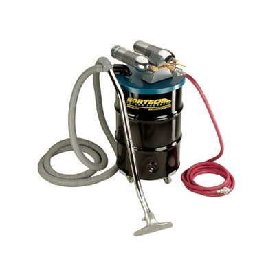 - Nortech N552BC Dual B Vacuum Unit with 2-Inch Inlet and Attachment Kit, 55-Gallon