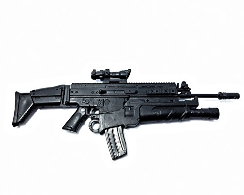 1/6 Scale FN SCAR Assault Rifle US Army FN Herstal Gun Model