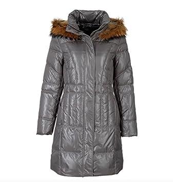 Sportalm Kitzbühel Damen Mantel Kiss mit Fell Grau alle