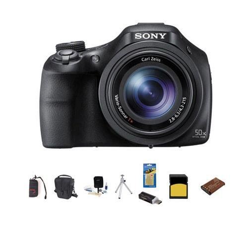 Sony Cyber-shot DSC-HX400 Digital Camera, 20.4MP, 50x Optica
