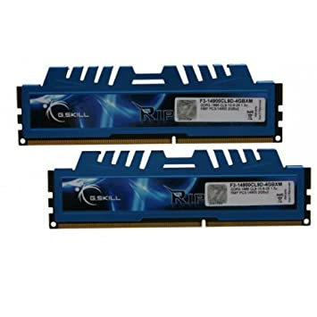 G.Skill 4GB DDR3-1866 RipjawsX, F3-14900CL9D-4GBXM: Amazon.es: Electrónica