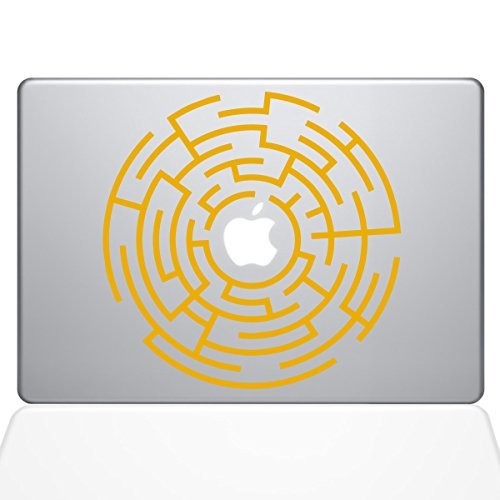 【高価値】 The B0788HG8FW Decal Guru Circle Sticker Maze (1289-MAC-15X-SY) Runner Macbook Decal Vinyl Sticker - 15 Macbook Pro (2016 & newer) - Yellow (1289-MAC-15X-SY) [並行輸入品] B0788HG8FW, ヒップス シューストア:5cea81a1 --- a0267596.xsph.ru