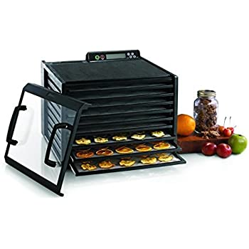 Excalibur 3948CDB 9 Tray Food Dehydrator with Digital Controller and Timer, Black