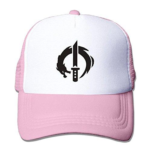 (Unisex overwatch genji dragon blade Baseball Hat Mesh Back Trucker Vintage (5 colours))