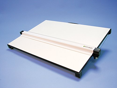 Bretton A2 Drawing Board, portable with carry handle, cross-wire parallel motion Orchard A2 drawing unit Orchard Drawing Boards