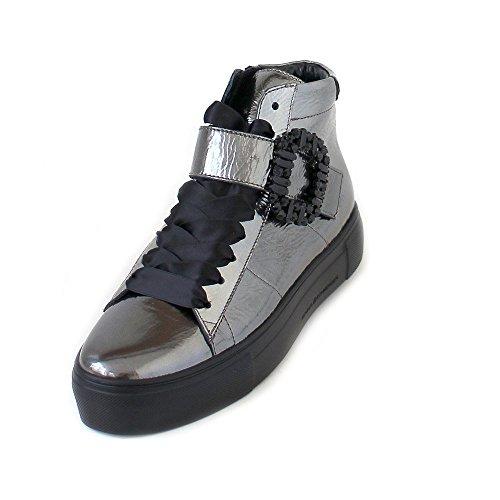 Schmenger Women's Aluminium Silver und Boots Schuhmanufaktur Kennel Metallic 21720 457 81 Silver 1pq5xwx