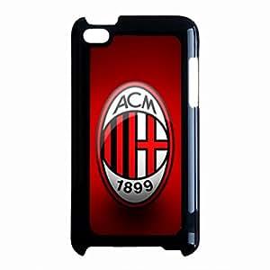 Ipod Touch 4th Funda,AC Milan Phope Cover,Football Culb Phone Skin,Hard Plastic Phone Cover