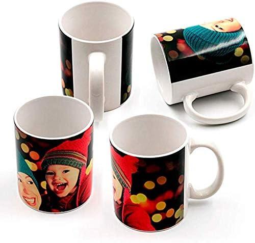 Sublimet Sublimation Solutions Pack 36 Tazas de cerámica blancaa | Ideales para ser Impresas Mediante la sublimación | Pack 36 | Tazas: Amazon.es: Hogar