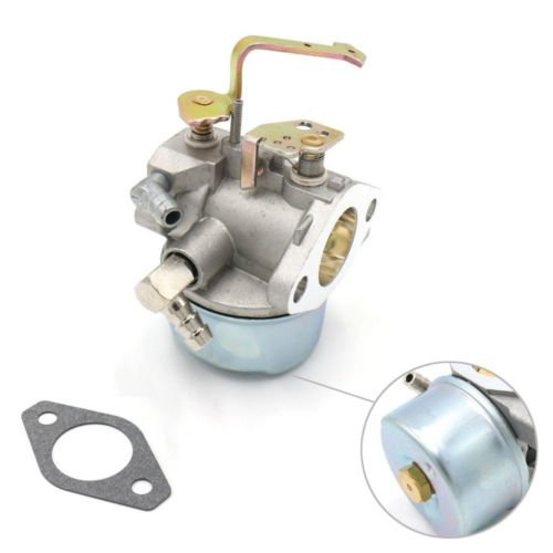 Wilk 640152A Carburetor with gasket for Tecumseh 640023 640051 640140 640152 HM80 HM90 HM100 8HP 9HP 10HP Generator Rotary Stens