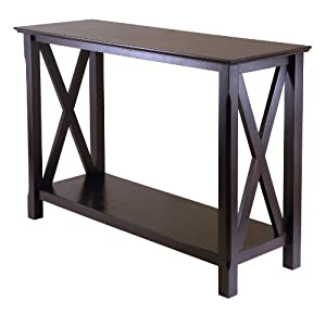 Winsome Wood Xola Occasional Table, Cappuccino