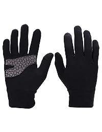 Hombres Mujeres Guantes de invierno Pantalla táctil Guantes de dedo completo Tejido de lycra Guantes térmicos térmicos de clima frío Impermeable para correr Esquí Senderismo Escalada Deportes al aire