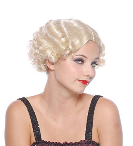 Loftus Finger Waves & Curls Short Marilyn Monroe Wig, Blonde, One Size