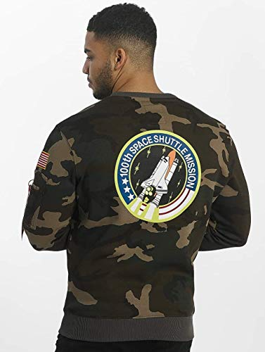 Wdl Camo Alpha 65 Industries Space Sweater Shuttle qx1pAO