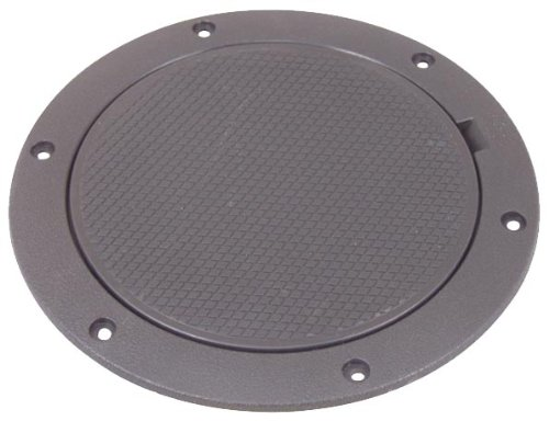 - Tempress Snap Fit Pry-Out Deck Plates (8-Inch, Black)