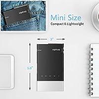 Mini proyector, Vamvo Ultra Mini proyector portátil 1080p ...
