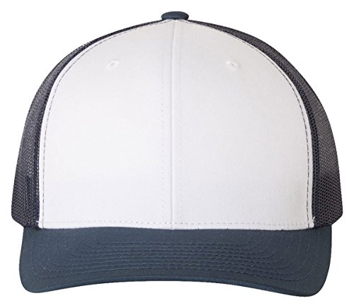 25020cb9535b64 Yupoong Retro Trucker Hat & 2-Tone Snapback - 6606, by Flexfit (One Size,  Navy/White/Navy) - Buy Online in UAE. | Apparel Products in the UAE - See  Prices, ...