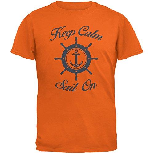 Old Glory Herren T-Shirt Orange Orange