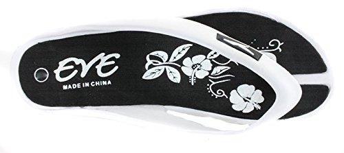 Comfortabele Slippers Voor Dames Wig Sandalen (9, Zwart)