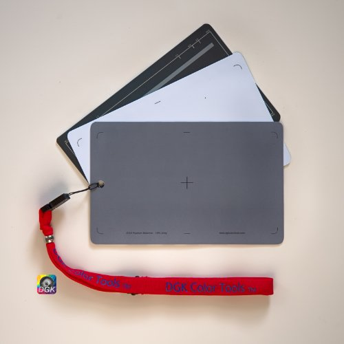 DGK Color Tools DGK-573 3 Card White Balance Set - 5