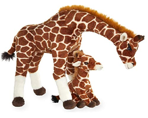 - Animal Alley Toys R Us Exclusive The Giraffes Mother and Baby Plush Giraffe Set (12 inch)