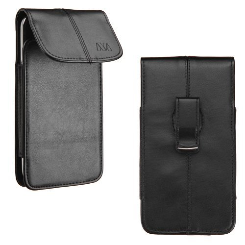 Vertical Flip Leather Cover for Sony Xperia C3 (Black) - 2