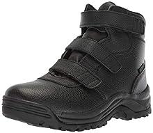 Propet Men's Cliff Walker Tall Strap Hiking Boot, Black, 15 D US