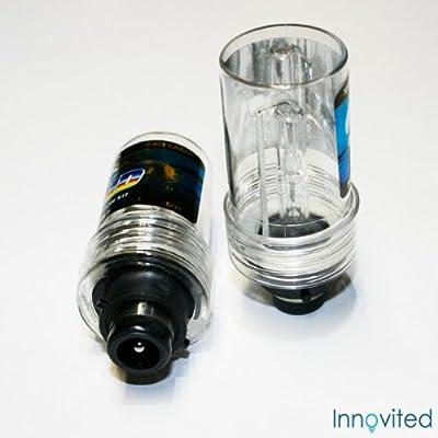 One Pair D2R D2S 6000K Xenon HID Bulbs Lights Lamps 35W Diamond White- single beam