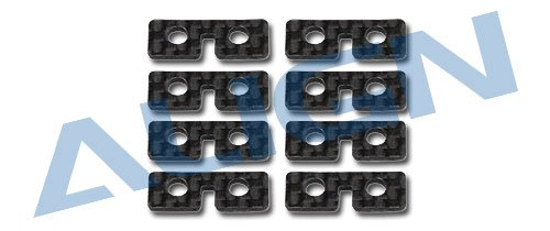 Yoton Accessories Align trex 550/600/700 Carbon Servo Plate H60074A Trex 600 Spare Parts with ()