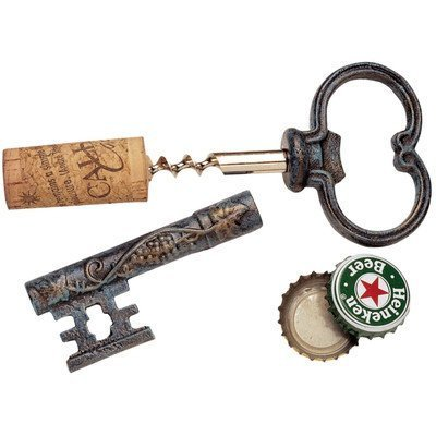 (The Bishop's Church Key Corkscrew and Bottle)