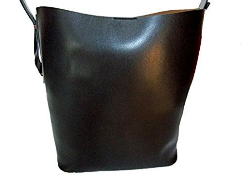 Gianni Chiarini Damen Schultertasche Bag in Bag Leder BS 5367 schwarz