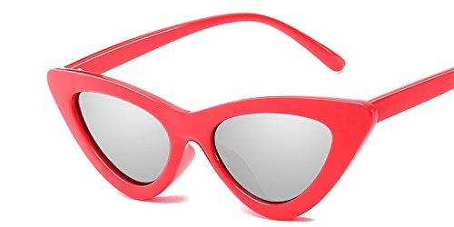 Gato Amarillo Silver De Hembra Gafas C4 Mal Matices Gafas Sol Mujer C10 Gafas Vintage Gafas De TIANLIANG04 Sexy Uv Red Sol De Blanco De Ojo Diseño pAwYYq