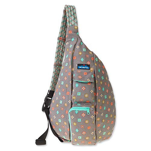 (KAVU Rope Bag - Compact Lightweight Crossbody Sling - Fun)