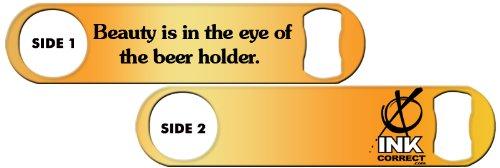 Killer Inked Bottle Opener: Beauty is in the Eye of the Beer Holder – Copper