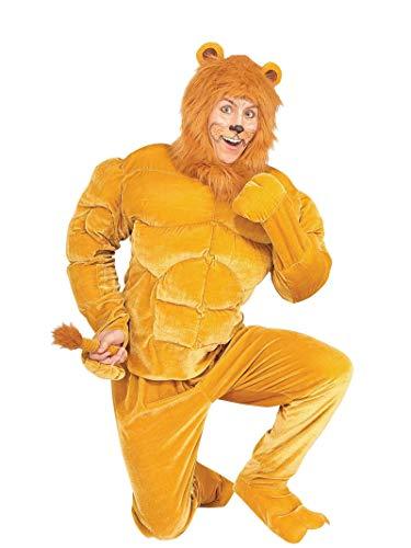 Forum Novelties 73958 macho Cowardly Lion Costume X-, Large, Pack of 1]()