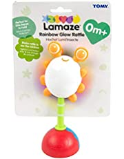 Rainbow Glow Rattle, Multicoloured
