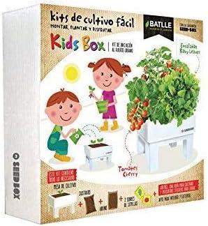 Kit de autocultivo para niños Seed Box Batlle: Amazon.es: Jardín