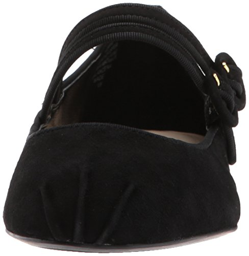 Nine Black Flat Women's Suede Xrye West Black Suede Ballet rXYwrqB