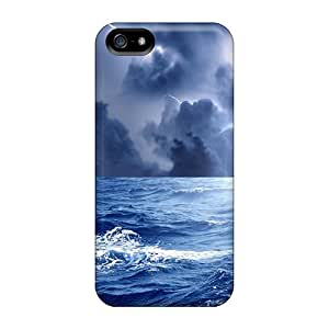RoccoAnderson Cases Covers For Iphone 5/5s - Retailer Packaging Exciting Storm At Sea Protective Cases