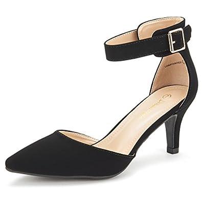 Amazon.com | DREAM PAIRS LOWPOINTED New Women's Evening Dress Low Heel