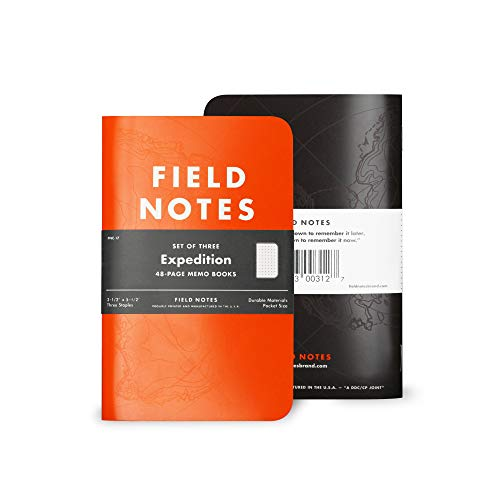 Field Notes Expedition 3Pack