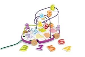Janod 4508093  - Looping números para tirar, circuito de aprendizaje
