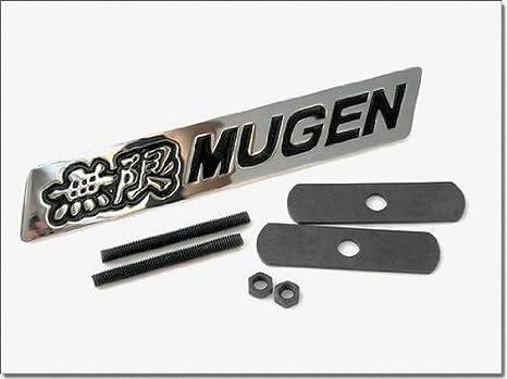Amazon.es: 3d Mugen Racing rejilla de parrilla emblema negro ...