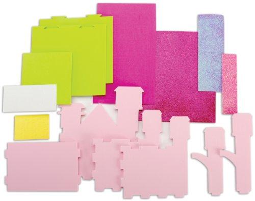 Fibre Craft 3D Foam Princess Castle Kit ()