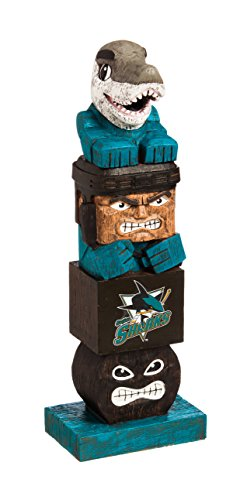 Team Sports America NHL San Jose Sharks Tiki Totem