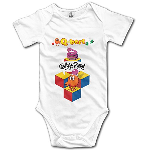 qbert-speech-unisex-short-sleeve-bodysuits-for-baby